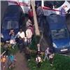 Вкрасноярском дворе внедорожник сбил 5-летнего ребенка