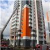 Пожарные «спасали» людей извысотки свентилируемым фасадом