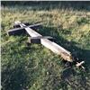ВАчинске подростки залезли напоклонный крест исломали его