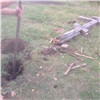 «Чисто изуважения»: ачинские вандалы восстановили упавший крест