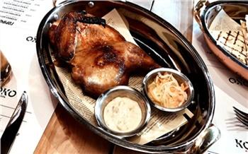 Сhicken shop «Коко шинель»: курица лапой