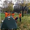 Обманутые дольщики разбили палатки украевого правительства