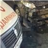 Проехавший нажелтый водитель устроил ДТП вКрасноярске (видео)