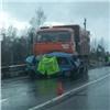 ВКрасноярском крае под колесами КАМАЗа погиб 90-летний водитель «Оки»