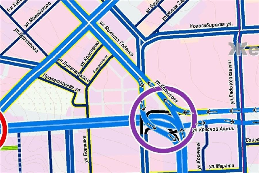 Новая транспортная схема Красноярска: что будет с ...: http://newslab.ru/photo/685782