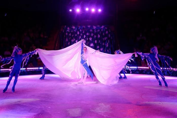 Цирк на льду гостит в Ялте последнюю неделю Фото: http://www.0654.com.ua.  В первом отделении зрителей ждет ледовое...