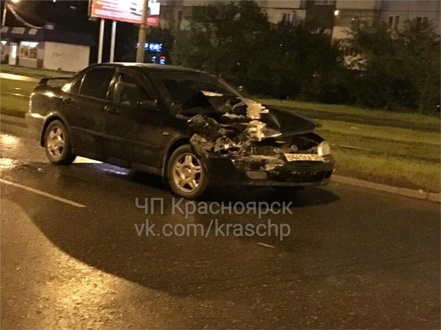 ВКрасноярске вДТП напереходе пострадала беременная девушка-пешеход