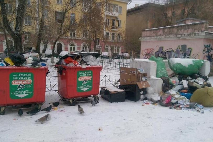 Скрасноярского рынка уходит компания, вывозившая четверть городского мусора