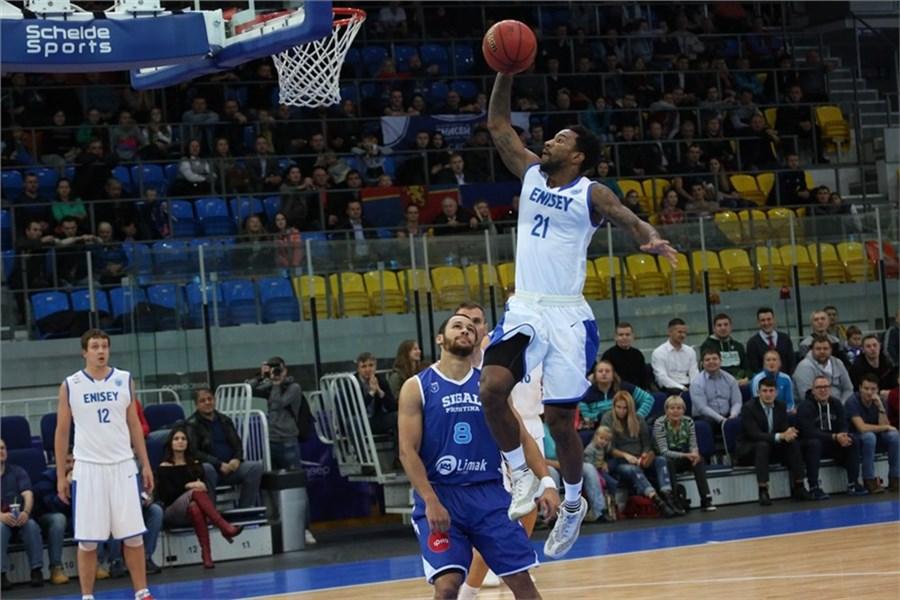 Баскетбольный «Енисей» впервый раз вистории сыграл скомандой изКосово