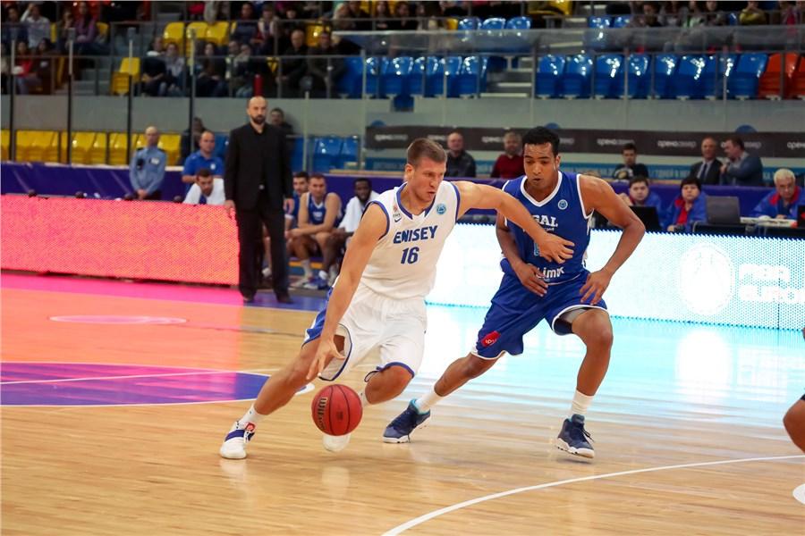 «Енисей» уступил «Приштине» взаключительном матче группового этапа Кубка Европы FIBA