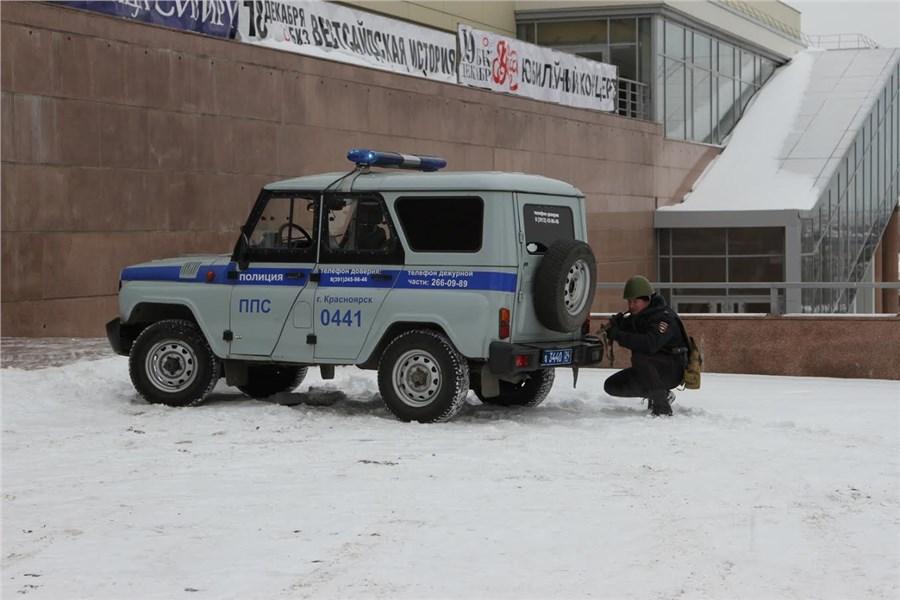 Командно-штабные учения могут затруднить движение вцентре Красноярска