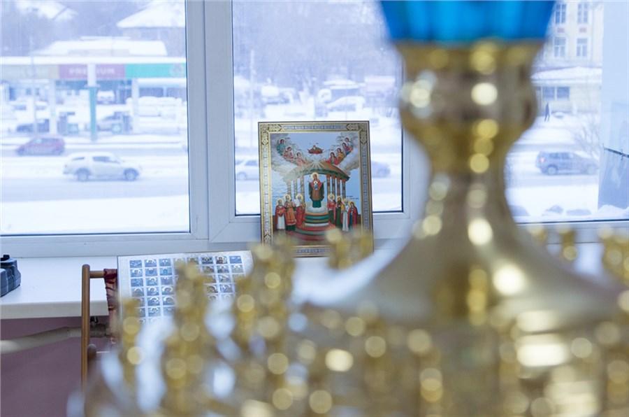 ВКрасноярске впервый раз в Российской Федерации открыли храм встенах торгового центра