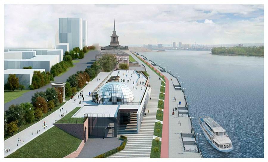 ВКрасноярске налевобережной набережной может появиться очередной торговый центр