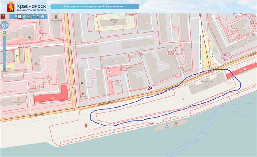 Около Речного вокзала вКрасноярске может появиться торговый центр