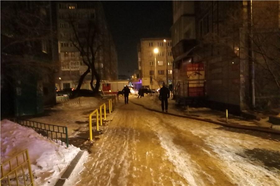 Накрупном пожаре вцентре Красноярска погибли двое пожилых людей
