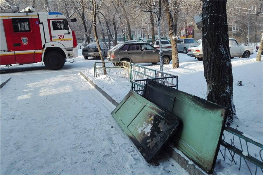ВКрасноярске пироман заночь устроил пожары сразу внескольких домах