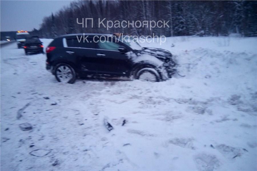 ДТП натрассе «Ачинск-Красноярск» забрало жизни двоих человек