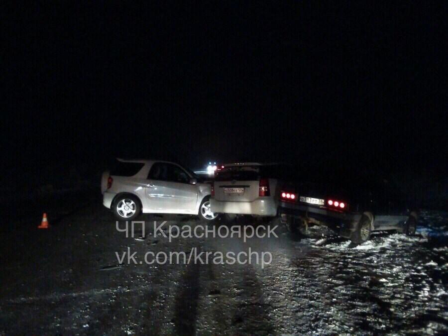 Нетрезвый шофёр устроил массовое ДТП под Красноярском: погибла 9-летняя девочка