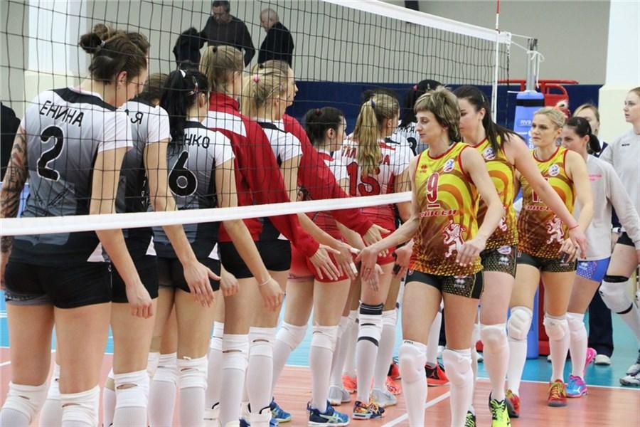 Волейболистки «Енисея» обыграли «Протон» вматче чемпионата РФ