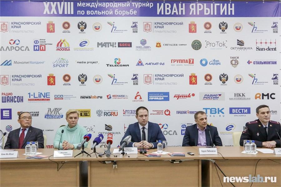 ВКрасноярске стартовал турнир повольной борьбе памяти Ярыгина