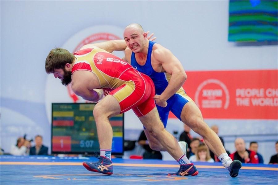 Намеждународном турнире повольной борьбе красноярские спортсмены завоевали 4 медали
