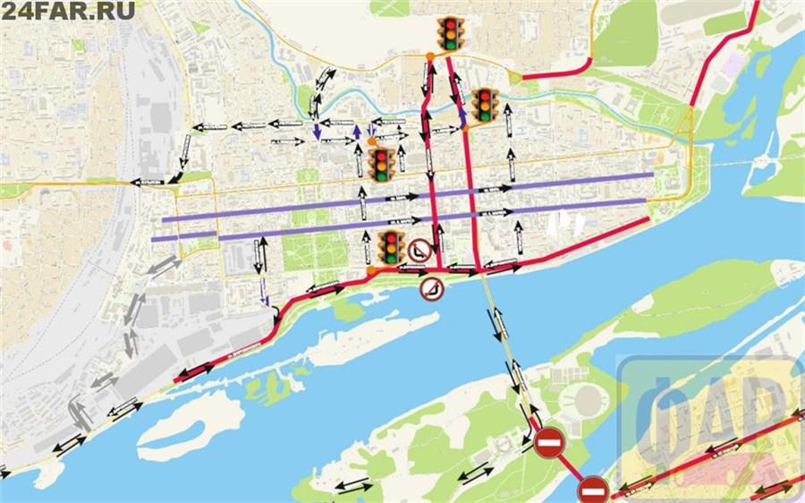 Схема 4 моста в красноярске фото 450