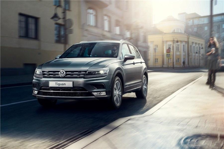 ВКрасноярске появился VW Tiguan в неповторимых комплектациях