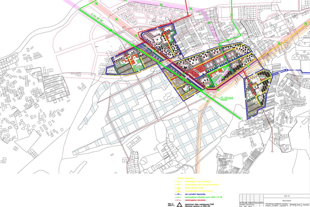 Крупная транспортная развязка будет построена на территории Октябрьского района Красноярска.
