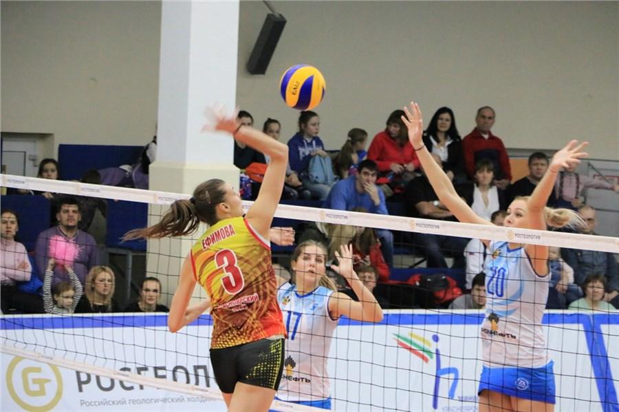 Волейболистки «Енисея» впервый раз вистории вышли вполуфинал Суперлиги