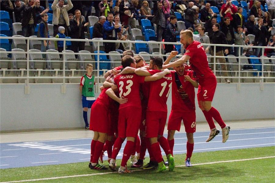 Футболисты «Енисея» одержали первую победу в 2017-ом