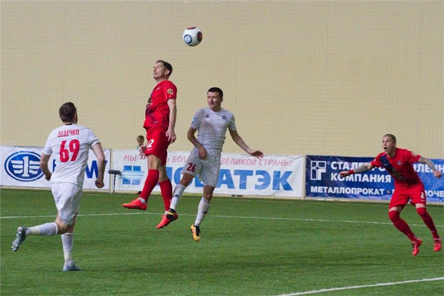 Футболисты «Енисея» одержали первую победу в 2017-ом году