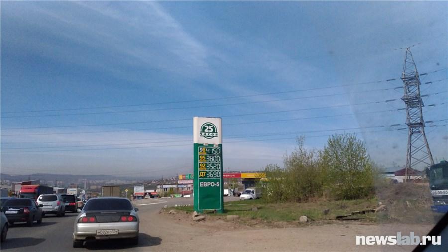 Росстат иФАС Хакасии докладывают оросте цен набензин