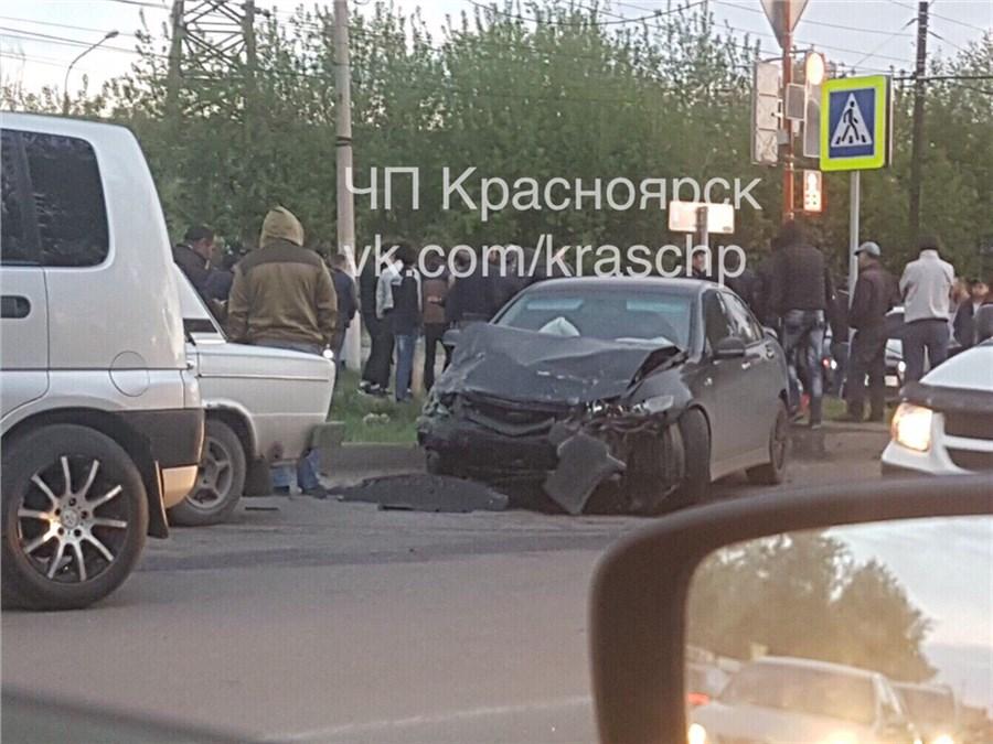 Появилось видео смертельной трагедии с6-летним сыном вКрасноярске