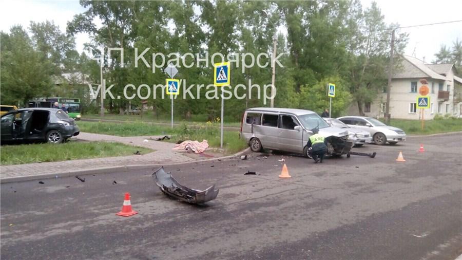 ВКрасноярске из-за ДТП умер 51-летний автомобилист