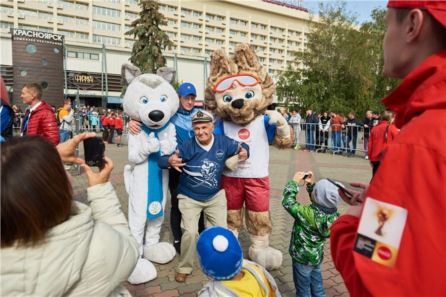 Вцентре Красноярска ограничат движение из-за кубка мира пофутболу