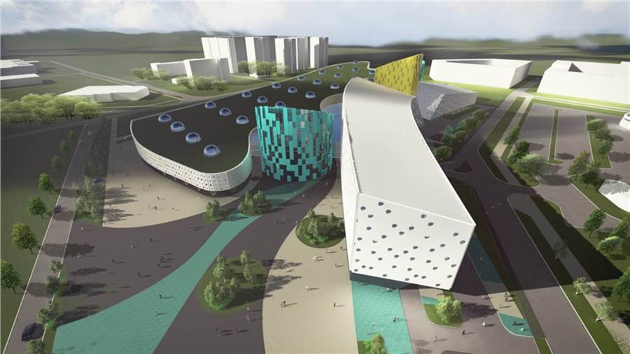 Эдхам Акбулатов обсудил сархитекторами концепции красноярского аквапарка