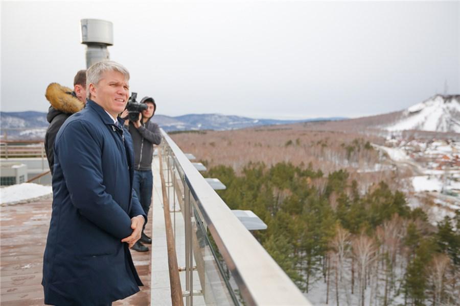 ВКрасноярске подчеркнули 500 дней доначала Универсиады