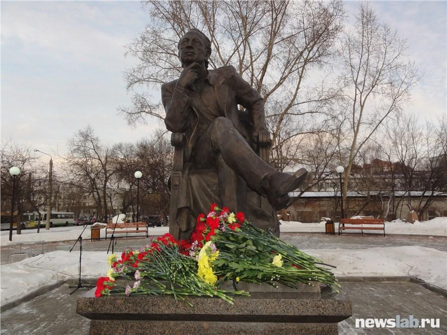 ВКрасноярске открыли монумент Михаилу Годенко