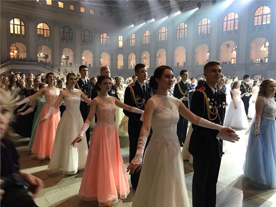 В столице пройдетII Международный Кремлевский кадетский бал