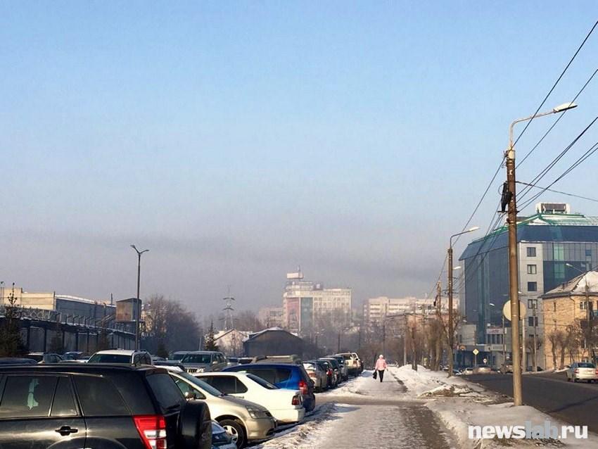 ВКрасноярске объявили режим «черного неба»