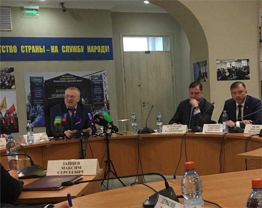 Втени Жириновского: ЛДПР представила собственный состав руководства