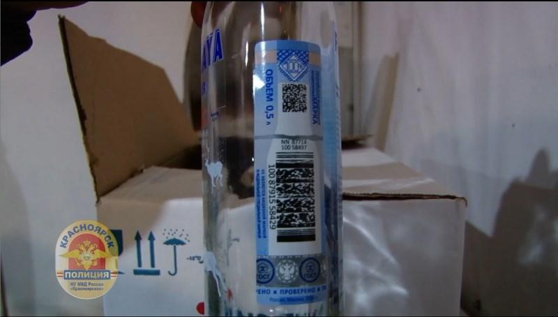 Вкрасноярском автосервисе изъято 700 литров поддельного алкоголя