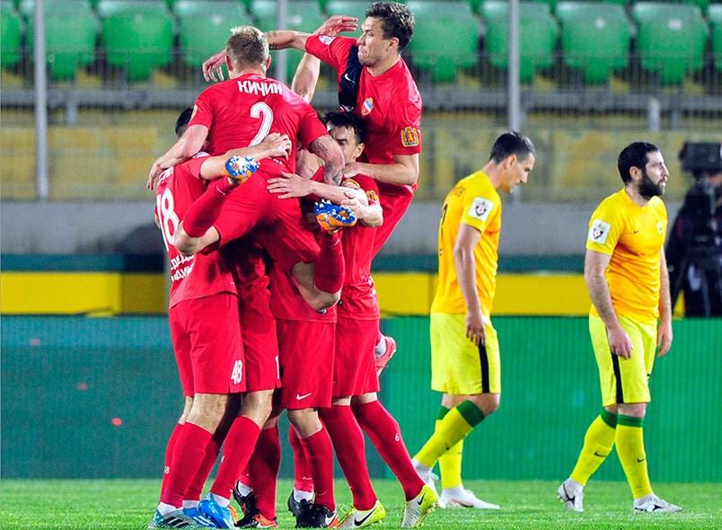 Красноярский «Енисей» вышел вРФПЛ после проигрыша «Анжи»