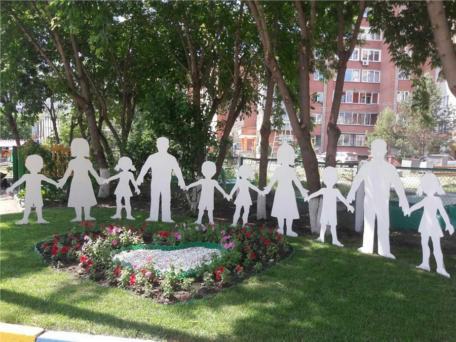 Вкрасноярских детских садах появились площадки для фотосессий