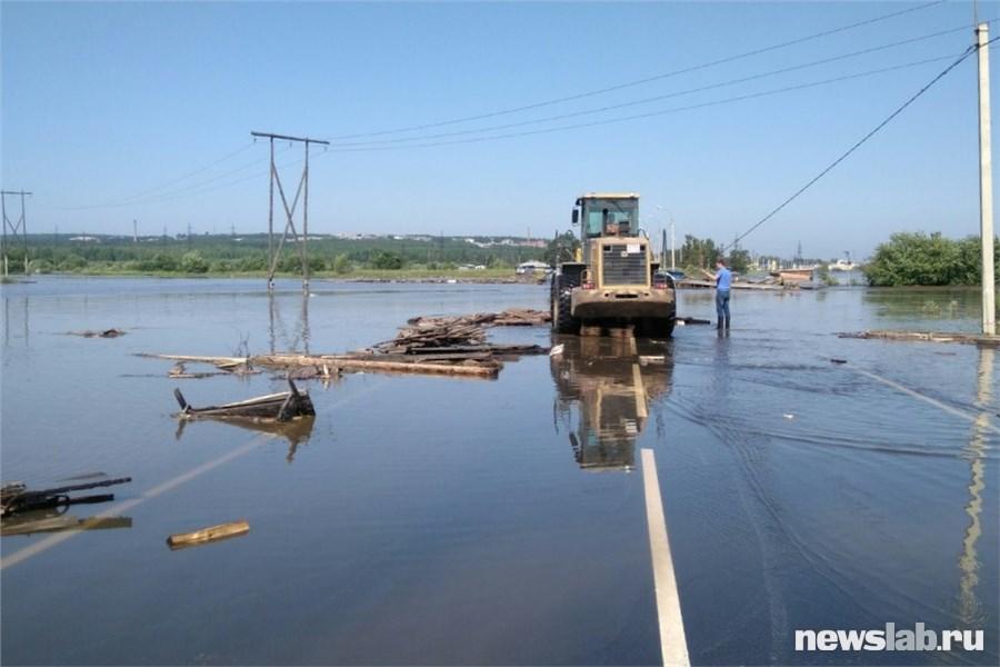Сильное наводнение в Иркутске - ВИДЕО