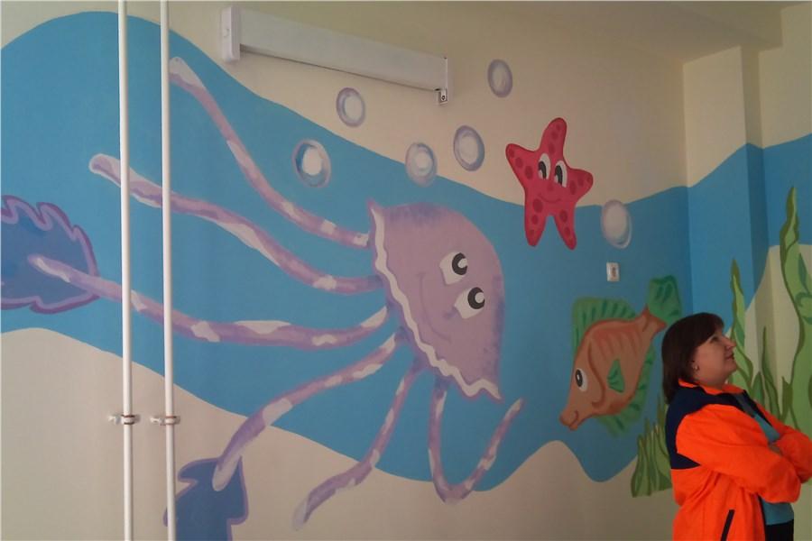 Как раскрасить стену