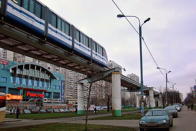 Московская монорельсовая дорога.