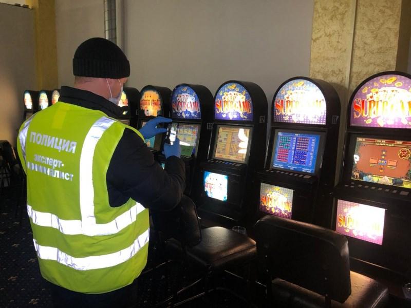 задержание игровых автоматов